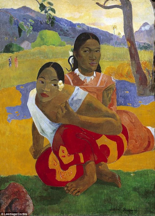 Paul Gauguin [1848-1903]  Nafea Faa Ipoipo? [Kiedy mnie poślubisz?] 2015 r. - 300 mln. USD Źródło - Leemage/Corbis, http://www.dailymail.co.uk/