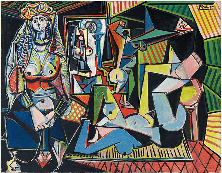"""Pablo PICASSO Les femmes d'Algers (Version """"O""""), 1955 r. Christie's Nowy Jork, 179,3 mln. USD Źródło: Chrsitie's / Succession Picasso/DACS, London 2015"""