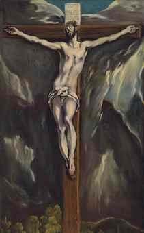El Greco [1541-1614] i warsztat, Chrystus na krzyżu Christie's London, 2015, 2,4 mln. GBP Źródło: www.christies.com