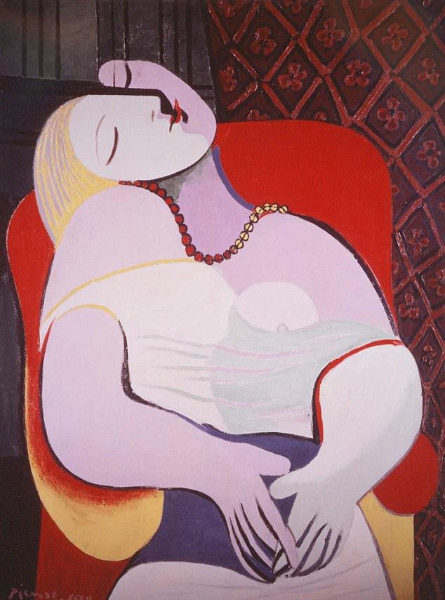 Pablo Picasso, Marzenie senne, 1932 r. Transakcja prywatna, 2013 r. – 155 mln. USD Źródło: www.dailymail.co.uk
