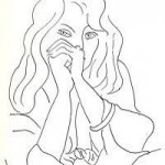 CROQUIS Henri Matisse, Studium kobiety, Źródło: arsalive.blogspot.com