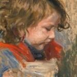 Ewald Max Karl ENDERLEIN [1872 - 1914]  Studium dziewczynki Źródło: www.artykwariat.pl