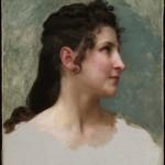 ÉBAUCHE Willam Adolphe Bouguereau, Portret kobiety Żródło: www.pinterest.com