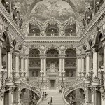Foyer w Operze Garnier w XIX w., źródło: wikiwand.com