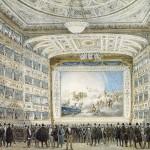 Wnętrze Opery La Fenice w Wenecji z 1837 r. , źródło: wikipedia.org