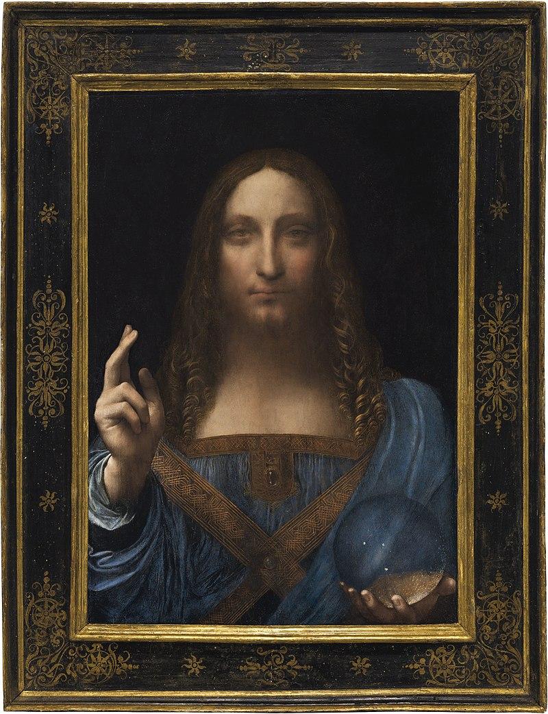 7. Leonardo da Vinci, Salvator Mundi